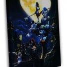 Kingdom Hearts 3 Game Art Wall 16x12 Framed Canvas Print