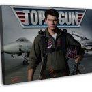 Top Gun Inspirational Movie Art 20x16 FRAMED CANVAS Print Decor