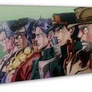 JoJo S Bizarre Adventure Anime Wall Decor 20x16 FRAMED CANVAS Print