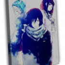 Noragami Anime Art Pictures For Room Iki Hiyori Yato 20x16 FRAMED CANVAS Print