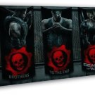 Gears Of War 3 4 Game 16x12 Framed Canvas Print