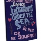 Back To The Future Movie Enchantment Under The Sea Dance 16x12 FRAMED CANVAS Pr