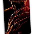 A Nightmare On Elm Street Horror Movie 20x16 Framed Canvas Print