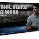 Roger Federer Tennis Players Art 20x16 FRAMED CANVAS Print Decor