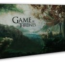 Game Of Thrones TV Show Season Drama Series Wall Decor 20x16 FRAMED CANVAS Pri