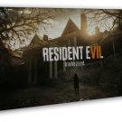 Resident Evil 7 New Game Art 20x16 Framed Canvas Print