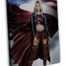 Supergirl TV Series Superheroes Melissa Benoist 20x16 FRAMED CANVAS Print