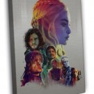 Game Of Thrones Season 5 Tv Series Art 20x16 Framed Canvas Print