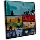 Which Is Your Favorite Mcu Movie Art 16x12 FRAMED CANVAS Print Decor