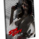 Sin City A Dame To Kill For Art 16x12 Framed Canvas Print Decor