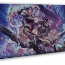 Overwatch Heroes Hot Game Art Reaper 16x12 Framed Canvas Print