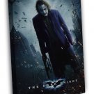 Joker Batman The Dark Knight Dc Movie Tdk 16x12 Framed Canvas Print