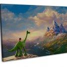 The Good Dinosaur Image 16x12 Framed Canvas Print