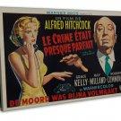 Hitchcock S Dial M For Murder Art 20x16 FRAMED CANVAS Print Decor