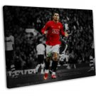 Cristiano Ronaldo Art 20x16 Framed Canvas Print Decor