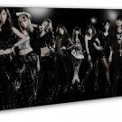 Girls Generation Women S Singing Group Art 20x16 FRAMED CANVAS Print Decor