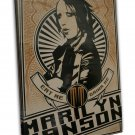 Marilyn Manson Music Band Group Art 20x16 FRAMED CANVAS Print Decor