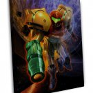 Metroid Prime Game Art 20x16 Framed Canvas Print Decor