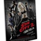 Sin City A Dame To Kill For Art 20x16 Framed Canvas Print Decor