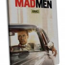 Mad Man Tv Show Art 20x16 Framed Canvas Print Decor
