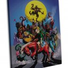 The Legend Of Zelda 25th Anniversary Art 20x16 FRAMED CANVAS Print Decor