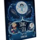 Song Of The Sea Movie Art 20x16 Framed Canvas Print Decor