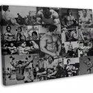 Arnold Schwarzenegger Bodybuilder Mr Olym Art 20x16 FRAMED CANVAS Print Decor