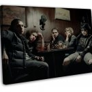 My Chemical Romance Art 20x16 Framed Canvas Print Decor