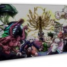 Hunter X Hunter The Last Mission Anime Wall Decor 20x16 FRAMED CANVAS Print