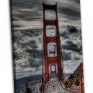 Golden Gate Bridge Wall Decor 20x16 Framed Canvas Print