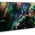 The Legend Of Zelda 25th Anniversary Game Wall Decor 20x16 FRAMED CANVAS Print