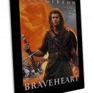 Braveheart Movie Wall Decor 20x16 Framed Canvas Print