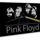 Pink Floyd Rock Band Art 20x16 Framed Canvas Print Decor