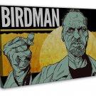 Birdman 2014 Movie Art 20x16 Framed Canvas Print Decor