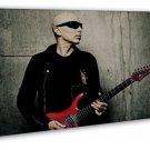 Joe Satriani Guitar Player Art 20x16 FRAMED CANVAS Print Decor