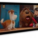 The Secret Life Of Pets Hot Movie Art 20x16 Framed Canvas Print Decor
