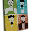 Breaking Bad 1 2 3 4 5 6 TV Show Wall Decor 20x16 FRAMED CANVAS Print
