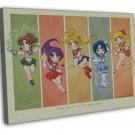Sailor Moon Anime Wall Decor 20x16 Framed Canvas Print