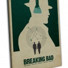 Breaking Bad 1 2 3 4 5 6 TV Show Wall Decor 20x16 FRAMED CANVAS Print