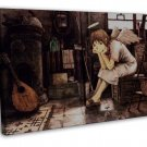Haibane Renmei Anime Wall Decor 20x16 Framed Canvas Print