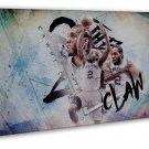 Kawhi Leonard Basketball Star Wall Decor 20x16 FRAMED CANVAS Print