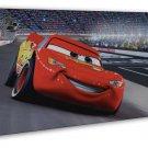 Cars 2 Movie Art Wall Decor 20x16 Framed Canvas Print