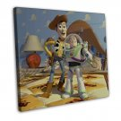 Toy Story 3 Movie Wall Decor 20x16 Framed Canvas Print