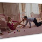 The Wolf Of Wall Street TV Wall Decor 20x16 FRAMED CANVAS Print