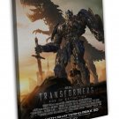 Transformers 4 Age Of Extinction 2014 Movie Wall Decor 20x16 FRAMED CANVAS Print