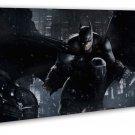 Batman Arkham City Wall Decor 20x16 Framed Canvas Print
