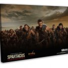 Spartacus Blood And Sand Tv Wall Decor 20x16 Framed Canvas Print