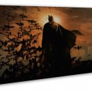 The Dark Knight Arkham City Movie Wall Decor 20x16 Framed Canvas Print