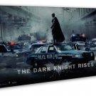 The Dark Knight Rises Batman Movie Wall Decor 20x16 FRAMED CANVAS Print