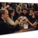 How I Met Your Mother TV Show Wall Decor 20x16 FRAMED CANVAS Print